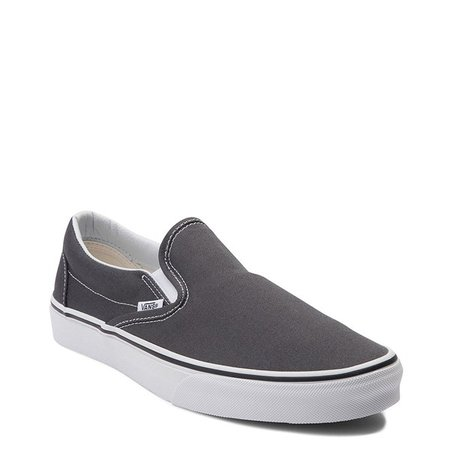 Vans Slip On Skate Shoe - Charcoal | Journeys
