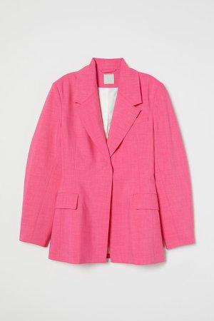 Oversized Blazer - Cerise - Ladies | H&M US