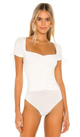 Privacy Please Jupiter Bodysuit in White   REVOLVE