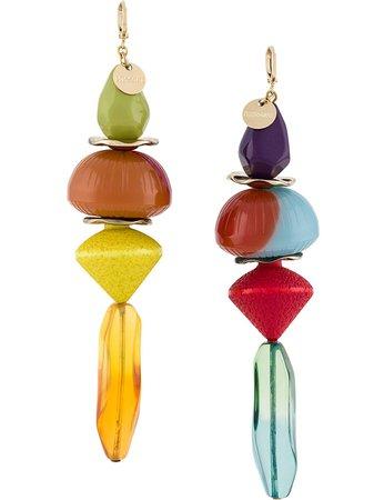 Missoni Oversized Beaded Earrings - Farfetch