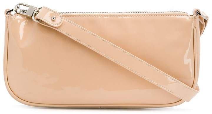 polished effect shoulder bag