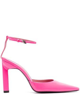 The Attico Amber ankle-strap pumps - FARFETCH