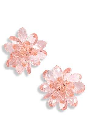 kate spade new york full flourish flower stud earrings | Nordstrom