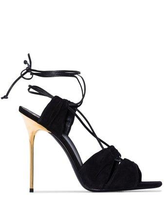 Balmain Sandaler Med Snörning - Farfetch