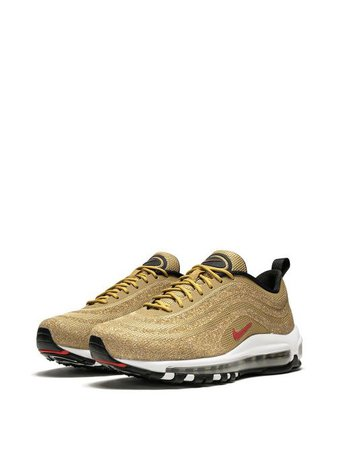 Shop gold Nike Nike Air Max 97 LX sneakers with Express Delivery - Farfetch