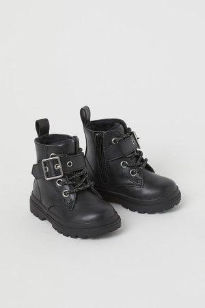 Boots - Black - Kids   H&M US