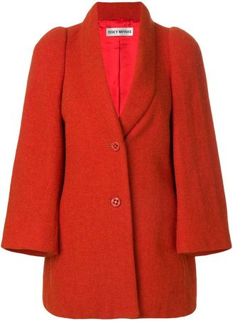 Pre-Owned shawl collar coat