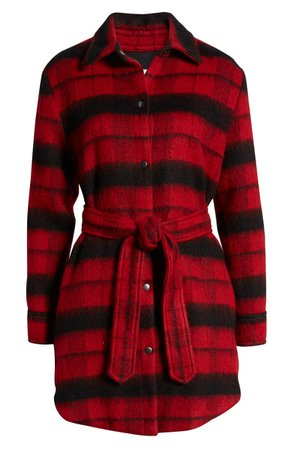 BB Dakota Wild & Woolly Plaid Coat | Nordstrom
