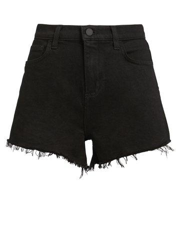 L'Agence   Ryland Cut-Off Denim Shorts   INTERMIX®