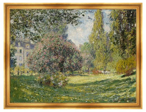 Munn Works - Monet, Landscape, The Parc Monceau | One Kings Lane