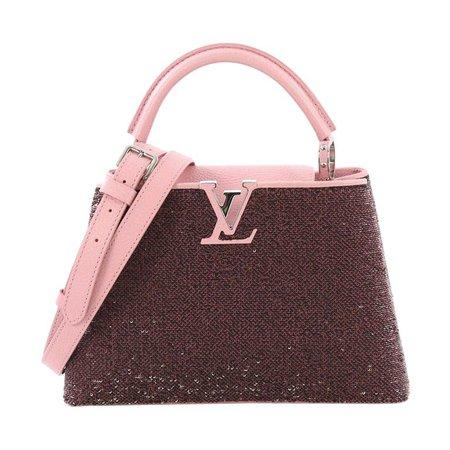 Louis Vuitton Capucines Handbag Sequins BB For Sale at 1stdibs