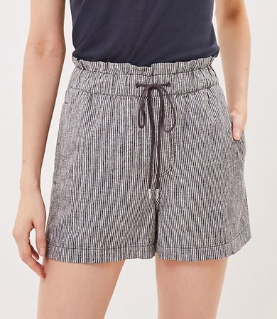 The Pull On Short in Stripe