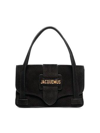 Jacquemus Black Le Sac Minho Nubuck Leather Mini Bag - Farfetch