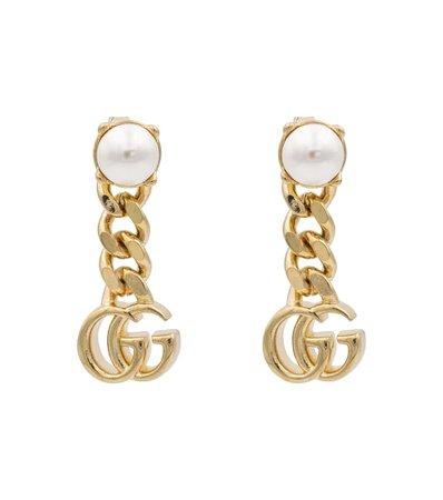 Gucci - GG Marmont earrings | Mytheresa