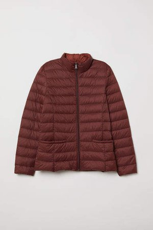 Lightweight Down Jacket - Red