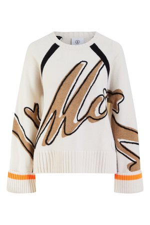 Шерстяной свитер с принтом Leni Bogner | купить в интернет-магазине Aizel.ru