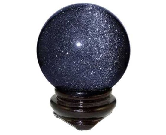 Dark blue crystal ball witch magic witchcraft polyvore moodboard filler