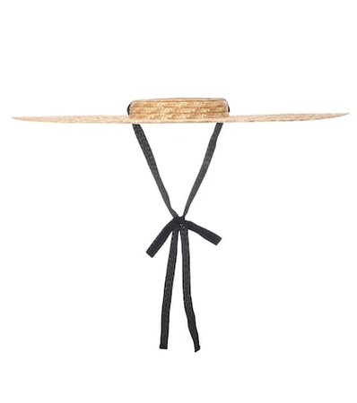 Le Chapeau Santon straw hat