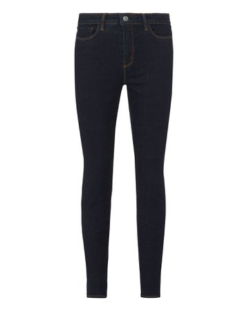 L'Agence | Margot High-Rise Skinny Jeans | INTERMIX®