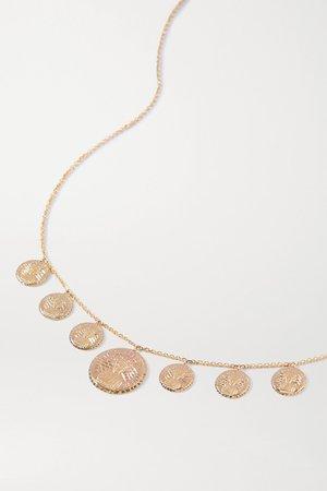 Gold Louise d'Or Collier 14-karat gold necklace | Anissa Kermiche | NET-A-PORTER