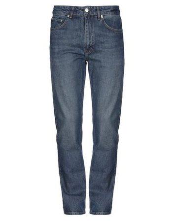 Wood Wood Denim Pants - Men Wood Wood Denim Pants online on YOOX United States - 42739386NV