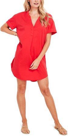 Garment Dye Tunic Dress