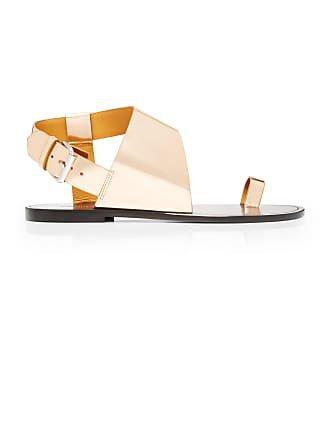Isabel Marant Jostee Metallic Leather Sandals