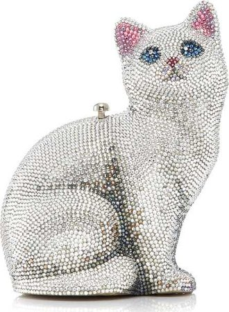 White Cat Purse (Judith Leiber)