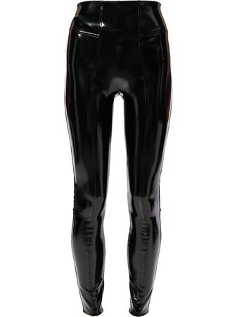 Spanx Legging De Vinil - Farfetch