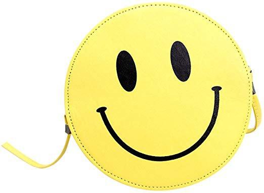 Mini Women Purses Smiley Face Crossbody Shoulder Sling Bag: Amazon.co.uk: Luggage