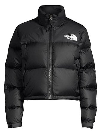 The North Face 1996 Nuptse Cropped Puffer Jacket | SaksFifthAvenue