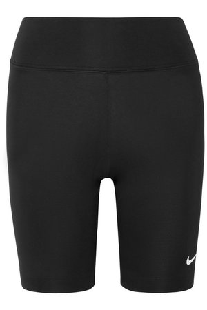 Nike | Leg-A-See stretch cotton-blend jersey shorts | NET-A-PORTER.COM
