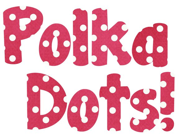 the word polka dots - Google Search