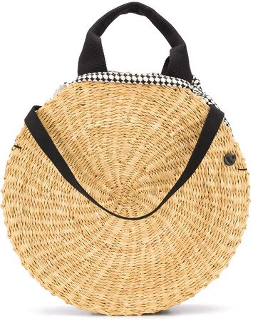 Round Panelled Tote