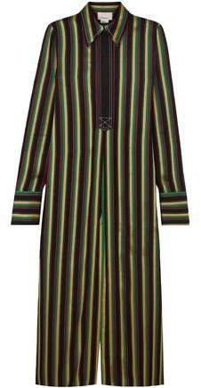 Striped Satin Tunic