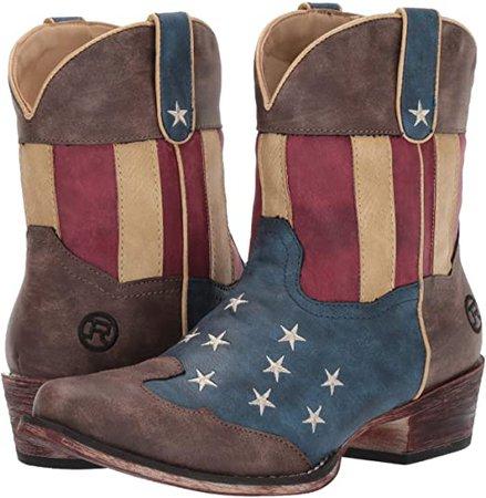 Amazon.com   ROPER Women's Flotus Western Boot   Mid-Calf