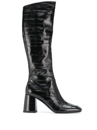 Saint Laurent block heel boots $2,195 - Buy Online - Mobile Friendly, Fast Delivery, Price