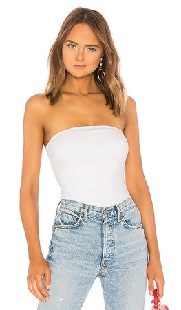 superdown Ally Tube Bodysuit in White | REVOLVE
