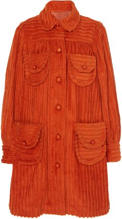 Cozy Cords Dress Coat