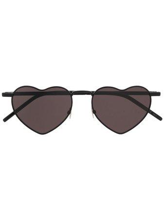 Saint Laurent Eyewear Gafas De Sol En Forma De Corazón - Farfetch