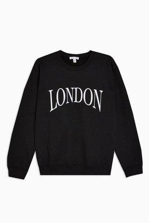 London Graphic Sweatshirt | Topshop