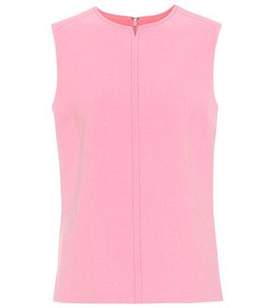 Wool-blend top