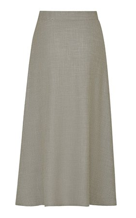 The Ada Wool-Blend Skirt by Giuliva Heritage | Moda Operandi