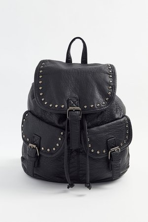 Studded Faux Leather Backpack | Urban Outfitters