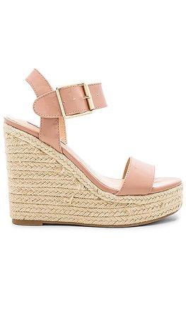 Steve Madden Santorini Sandal in Blush Patent | REVOLVE