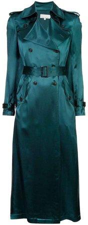 sheen trench coat