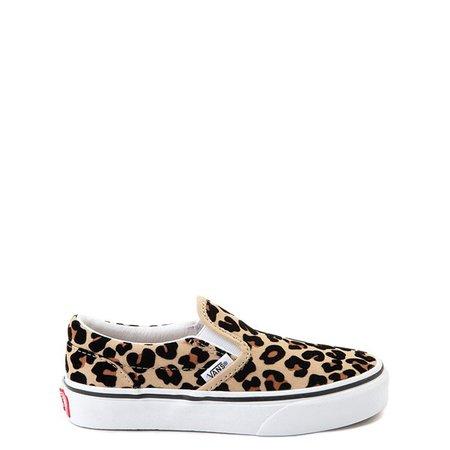 Vans Slip On Skate Shoe - Little Kid / Big Kid - Leopard | Journeys