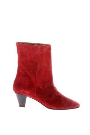 Marc Ellis 50mm Heel Velvet Boots