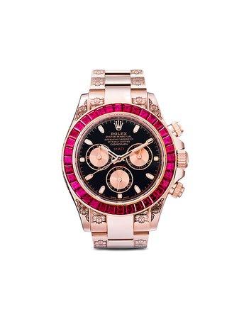 MAD Paris Rolex Oyster Perpetual Ruby 40mm - Farfetch
