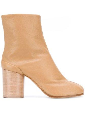 Maison Margiela Tabi leather boots - Farfetch